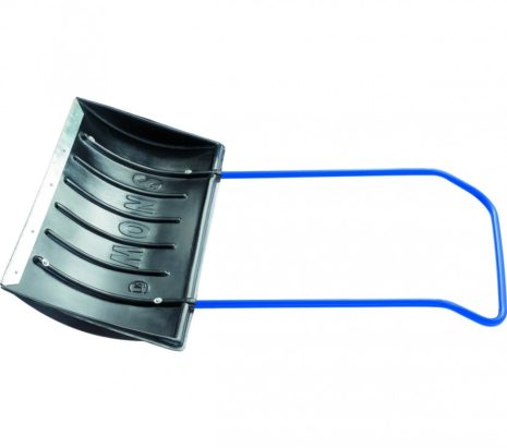 Движок для уборки снега пластиковый, 780х420х1140 мм, стальная рукоятка, Россия Сибртех 61594
