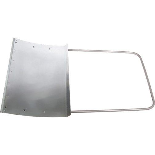 Движок для уборки снега алюминиевый, 755х505х1240 мм, стальная рукоятка, Россия Сибртех 61526
