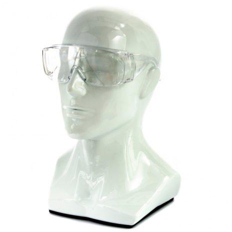 Очки защитные открытого типа, прозрачные, ударопрочный поликарбонат Россия Сибртех 89155