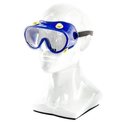 Очки защитные закрытого типа с непрямой вентиляцией, поликарбонат Россия Сибртех 89160