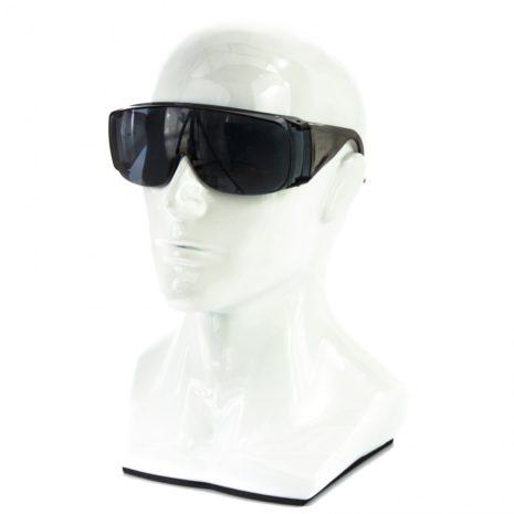 Очки защитные открытого типа, затемненные, ударопрочный поликарбонат Россия Сибртех 89156
